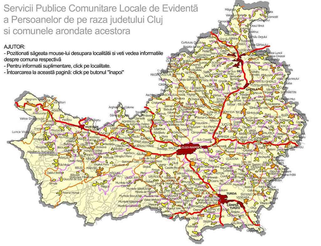 Djep Cluj Direcția Județeană De Evidență A Persoanelor Cluj